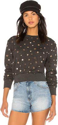 Spiritual Gangster Stars Crop Sweatshirt