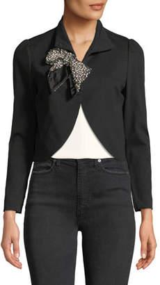 Alice + Olivia Addison Embellished Cropped Jacket