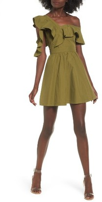 Women's J.o.a. Ruffle Dress $95 thestylecure.com