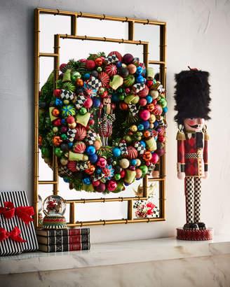 Mackenzie Childs Nutcracker Large Christmas Wreath
