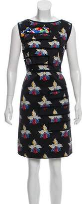 Fendi Printed Mini Dress
