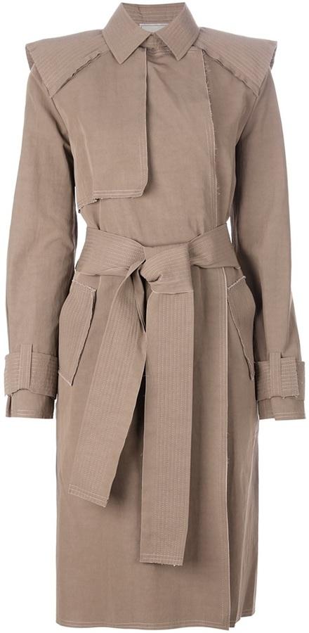 Lanvin belted coat