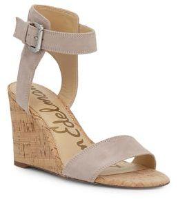 Sam Edelman Willow Suede Sandals $110 thestylecure.com