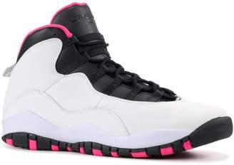 Nike GIRLS AIR JORDAN 10 RETRO (GS) 'VIVID PINK' - 47211-00