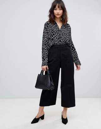 Selected Adele cropped pants
