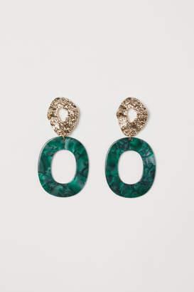 H&M Earrings - Green