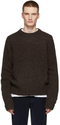 Acne Studios Brown Kai Crewneck Sweater