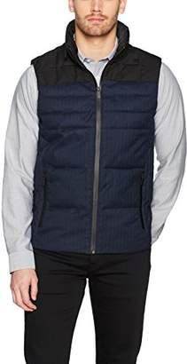Calvin Klein Men's Faux Wool Puffer Vest