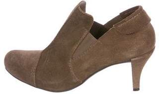 Pedro Garcia Suede Round-Toe Ankle Boots
