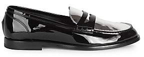 Balmain Men's Kriss Patent Leather Loafers