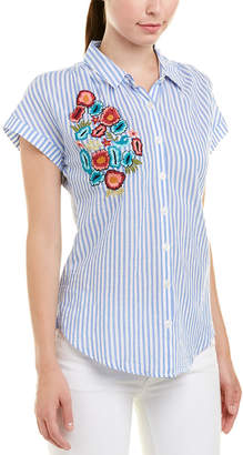 Tolani Embroidered Top