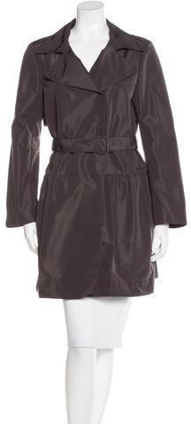 pradaPrada Belted Knee-Length Coat