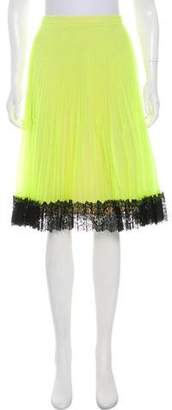 Christopher Kane Pleated Tulle Skirt w/ Tags