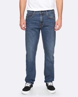 Quiksilver Mens Revolver Light Elder Straight Fit Jean