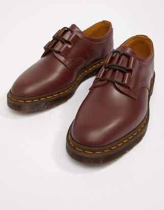 Dr. Martens Henton Ghillie shoes in oxblood