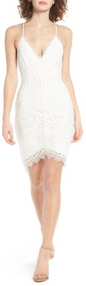 Women's Astr The Label Lace Body-Con Dress $85 thestylecure.com