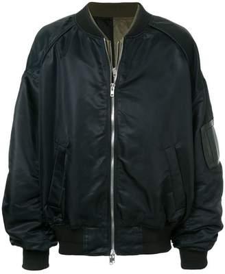 Juun.J layered bomber jacket