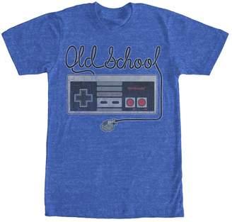 Fifth Sun Nintendo Old School NES Controller Mens Graphic T Shirt