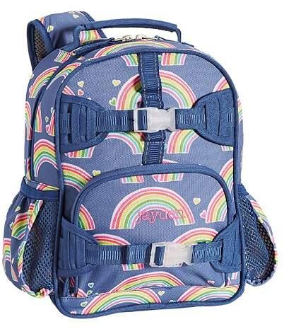 Pre-K Backpack, Mackenzie Blue Rainbow