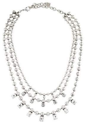 Dannijo Crystal Multistrand Necklace