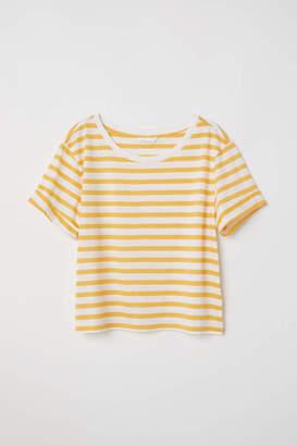 H&M Wide-cut T-shirt - Natural white - Women