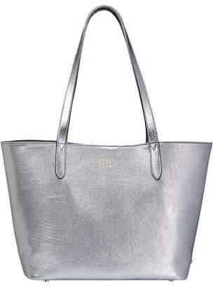 a95cbf0e8aea Metallic Tote Bags Silver Gold - ShopStyle