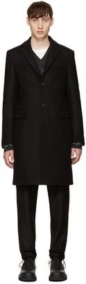 Acne Studios Black Wool Garrett Coat $720 thestylecure.com