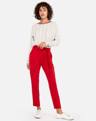 Express Striped Dolman Sleeve Sweater