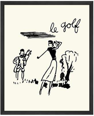 Melissa Van Hise Le Golf - Oversize Art