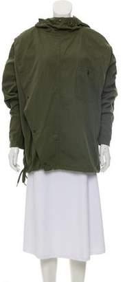 Chimala Poplin US Army Asymmetrical Anorak Hooded Jacket w/ Tags