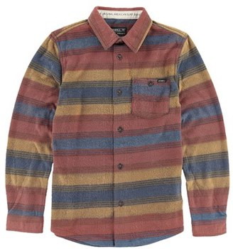 Boy's O'Neill 'Glacier Stripe' Fleece Shirt $40 thestylecure.com