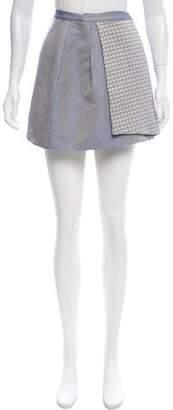 Kenzo Woven Wrap Skirt