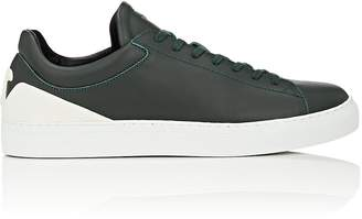 Emporio Armani Men's Logo-Detail Leather Sneakers