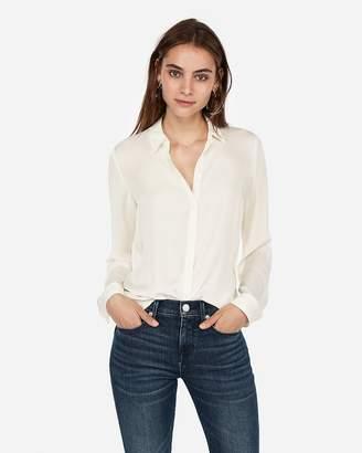 Express Satin Twill No Pocket City Shirt