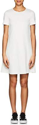 Lisa Perry Women's Lightweight Ponte Swing Dress - White