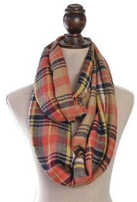 ONLINE Women's Autumn Tartan Plaid Tassel Long Scarf Neck Wrap