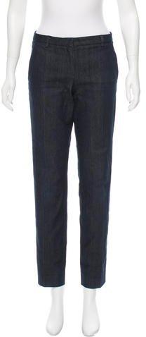 MonclerMoncler Mid-Rise Straight-Leg Jeans
