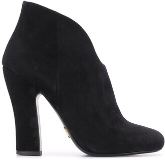Prada high-heeled ankle boots