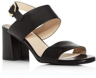 34fc288bb2f Cole Haan Women s Avani City Embossed Block-Heel Sandals