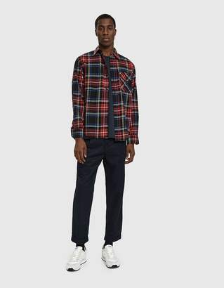 Beams 1 Pleat 80/3 Twill Pant