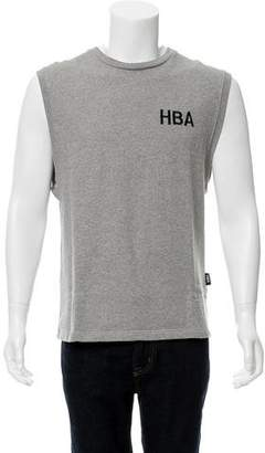 Hood by Air Vogue Logo Sleeveless Sweatshirt