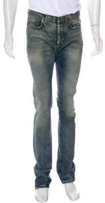 Christian Dior 2016 Distressed Slim-Fit Jeans