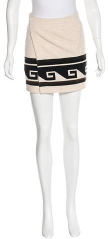 Isabel MarantIsabel Marant Wrap Mini Skirt