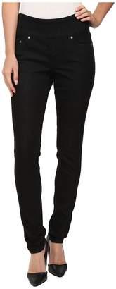 Jag Jeans Nora Pull-On Skinny Knit Denim in Black Rinse Women's Jeans