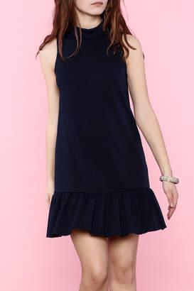 Trina Turk Trina by Navy Sleeveless Dress