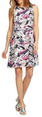 Nic+Zoe Graffiti Femme Dress