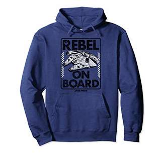 Star Wars Rebel On Board Falcon Sign Pullover Hoodie