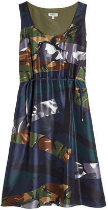 Kenzo Printed Silk Dress