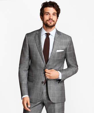 Brooks Brothers Regent Fit Double-Windowpane 1818 Suit