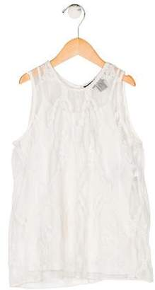 Polo Ralph Lauren Girls' Sleeveless Lace Top